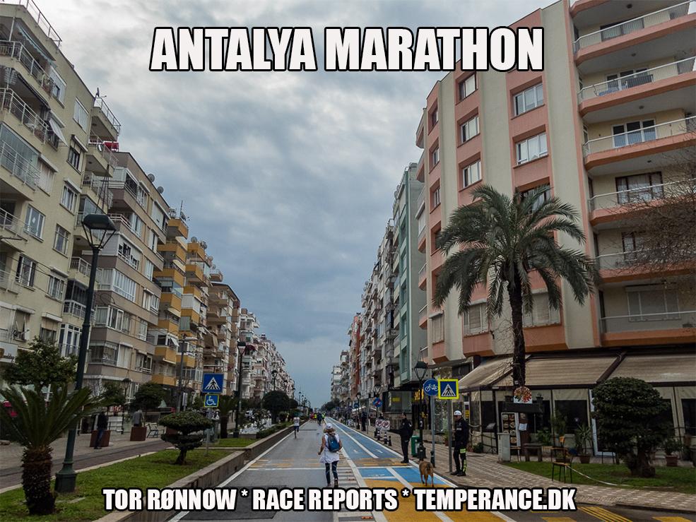Antalya Marathon 2019 - Tor Rønnow