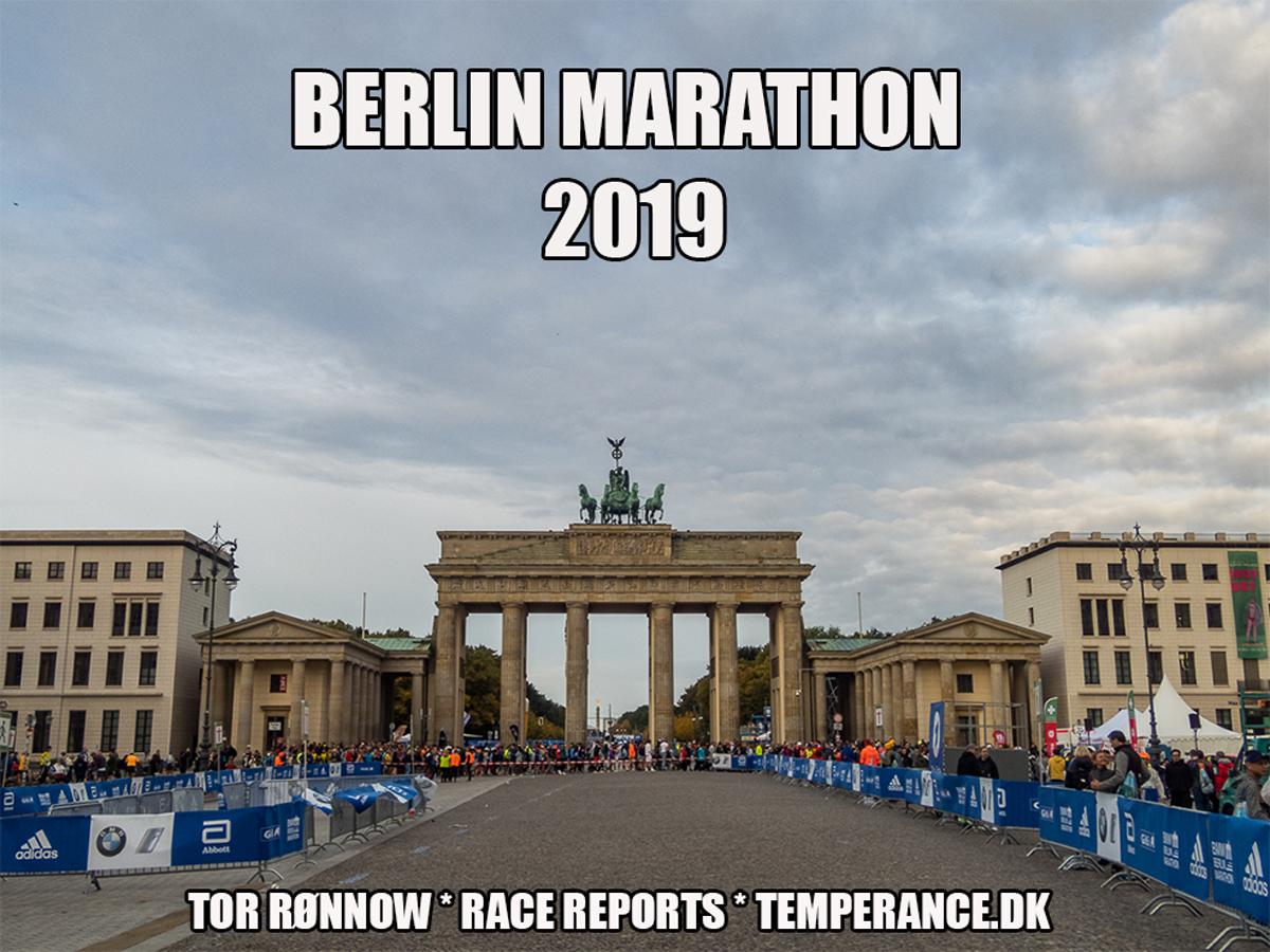 'Berlin Marathon 2019 - Tor Rønnow