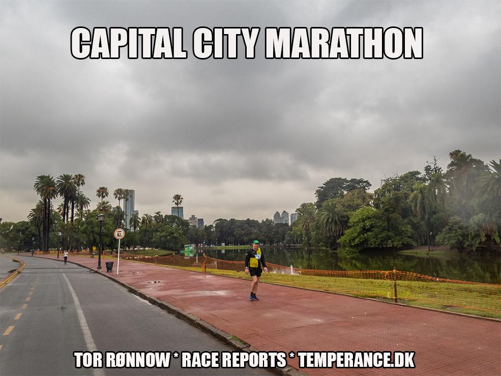Capital City Marathon 2020 - Southern Hemisphere Challenge 2020 - Tor Rønnow