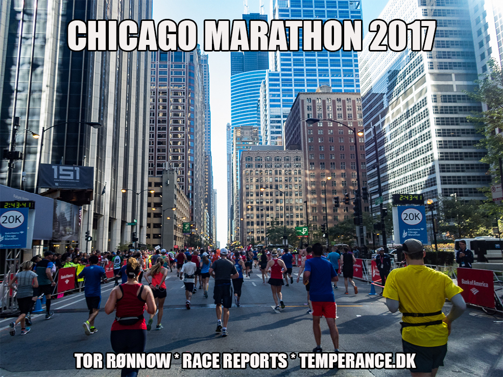 Bank of America Chicago Marathon 2017 - Tor Rønnow