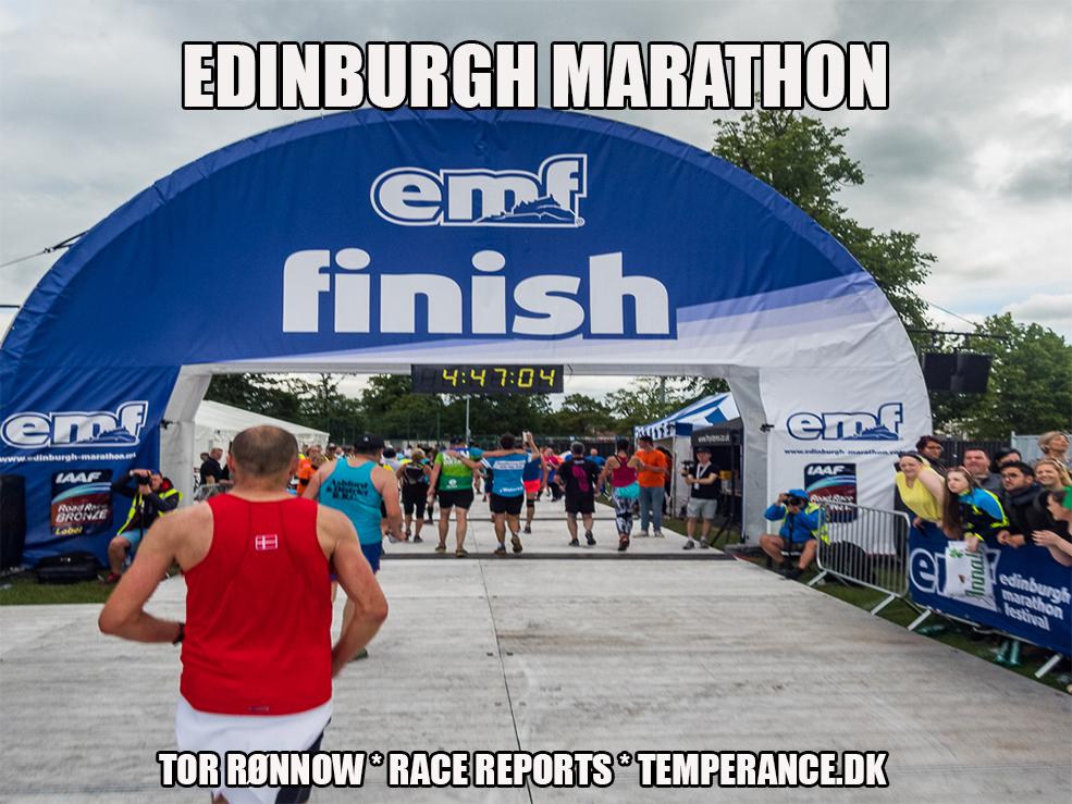 Edinburgh Marathon 2017 - Tor Rønnow