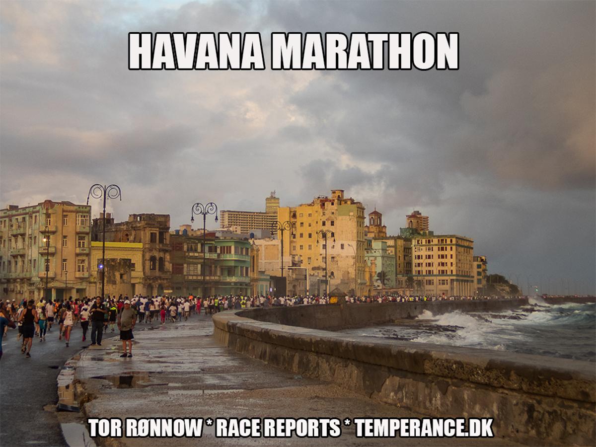 'Havana Marathon 2019 - Tor Rønnow