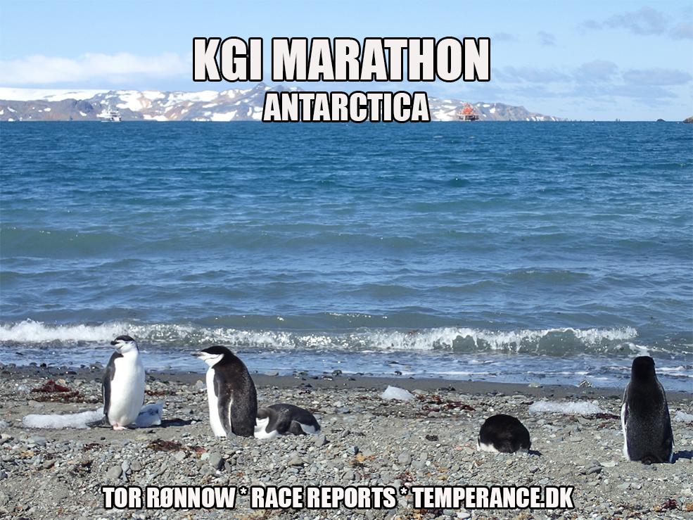 KGI Marathon 2020 - Southern Hemisphere Challenge 2020 -  King Georges Island - Antarctica - Tor Rønnow