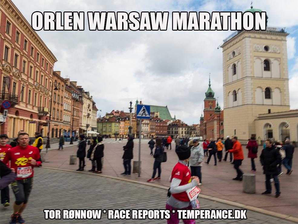 ORLEN Warsaw Marathon 2017 - Tor Rønnow