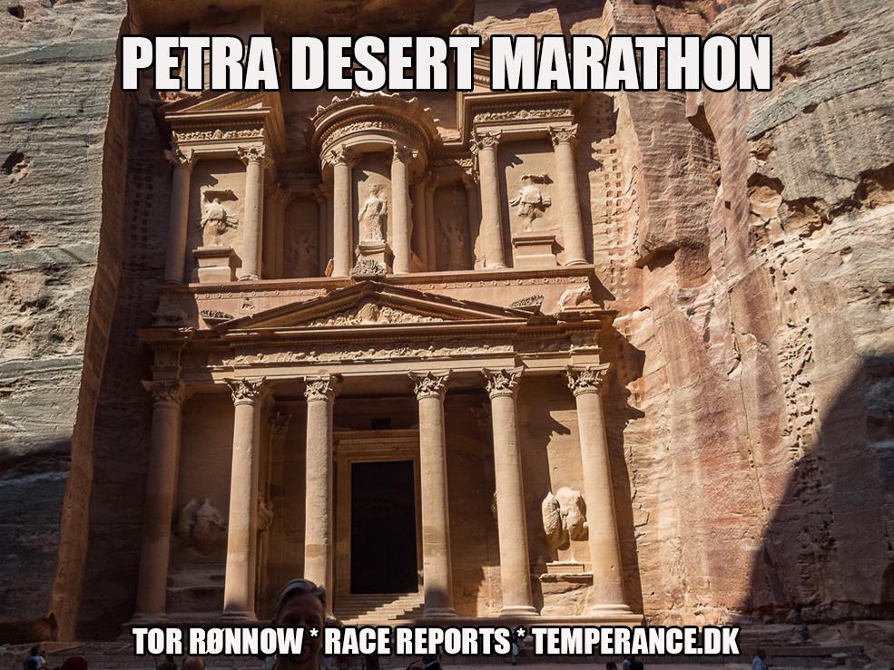 'Petra Desert Marathon 2019 - Tor Rønnow