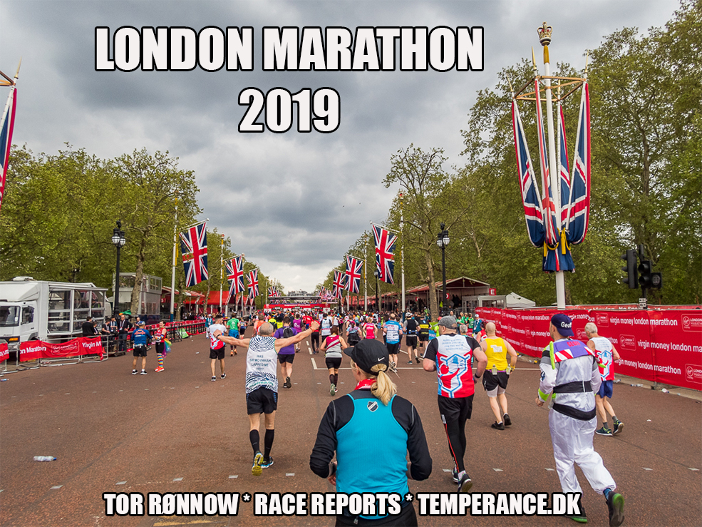 Virgin Money London Marathon 2019 - Tor Rønnow