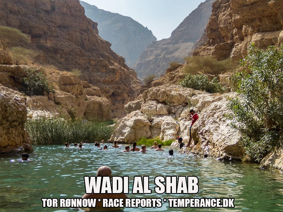 Wadi Al Shab - Muscat Marathon 2019 - Tor Rønnow