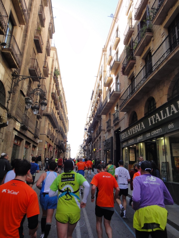 Barcelona Marathon 2011 - pictures - Tor Rønnow