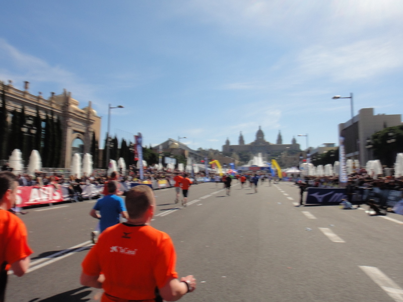 Barcelona Marathon 2011 - pictures - Tor R�nnow