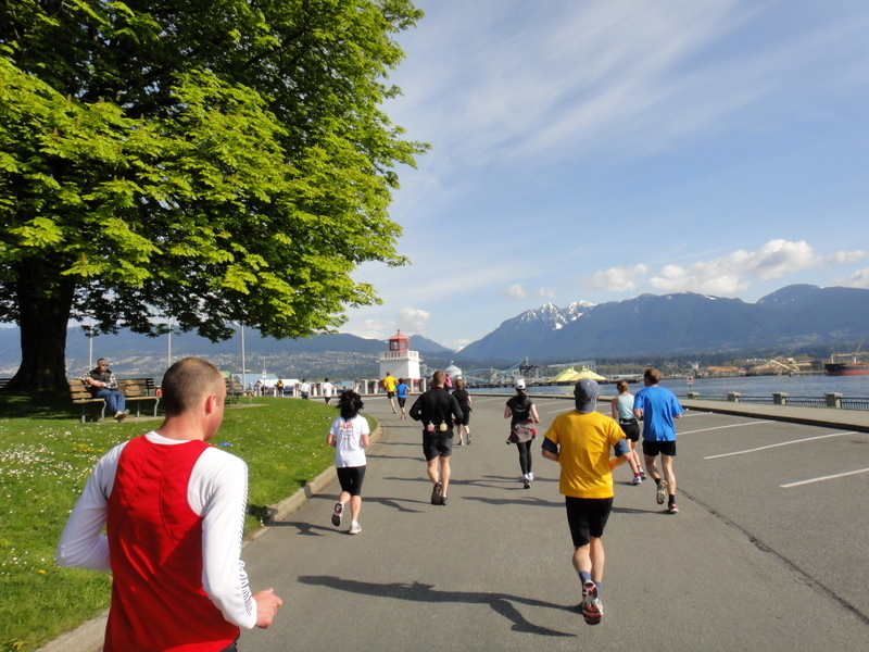 Vancouver Marathon 2011 - Tor Rønnow
