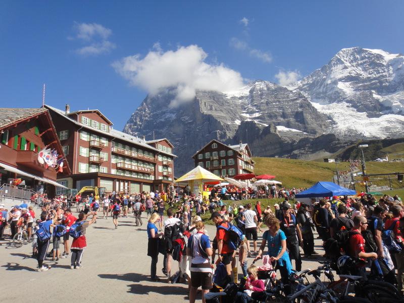 Jungfrau Marathon 2012 - Tor Rønnow