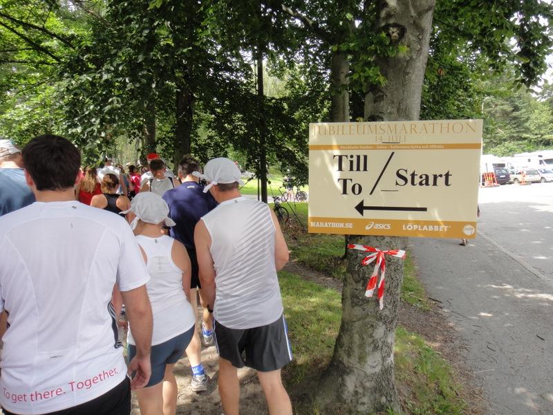 Stockholm Jubileum Marathon 2012 - Tor Rønnow