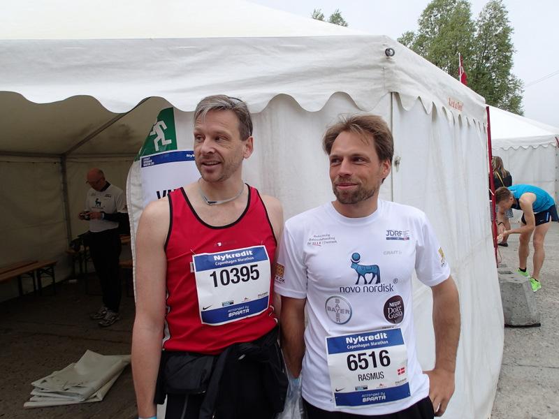 NYKREDIT Copenhagen Marathon 2013 - Tor Rønnow - Rasmus Quist