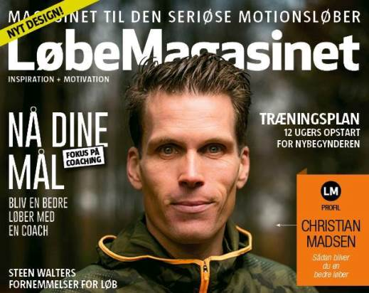 LøbeMagasinet Marts 2015 - Tor Rønnow - motionsløb.dk