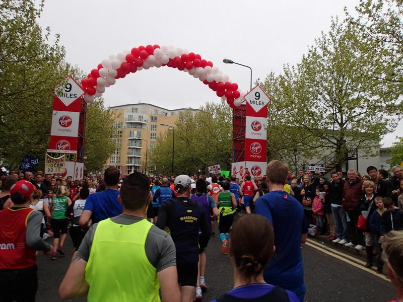 London Marathon 2015 - Tor Rønnow