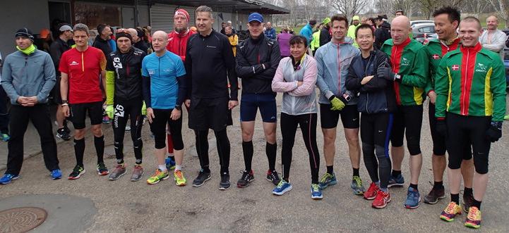 Ø-Marathon 30 april 2016 - Tor Rønnow