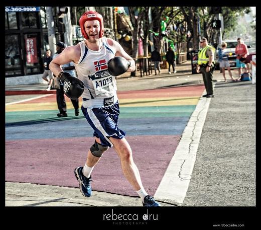 Odgaard i fin stil ved Los Angeles Marathon 2017 - Tor Rønnow - motionsløb.dk