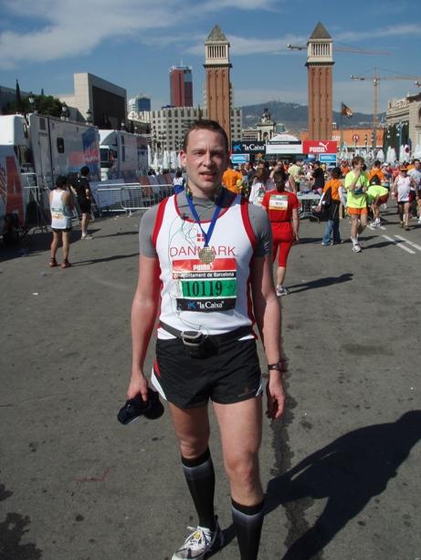 Barcelona Marathon Pictures - Tor Rønnow