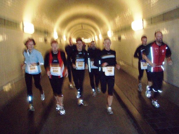 Elbtunnel Marathon Pictures - Tor Rønnow