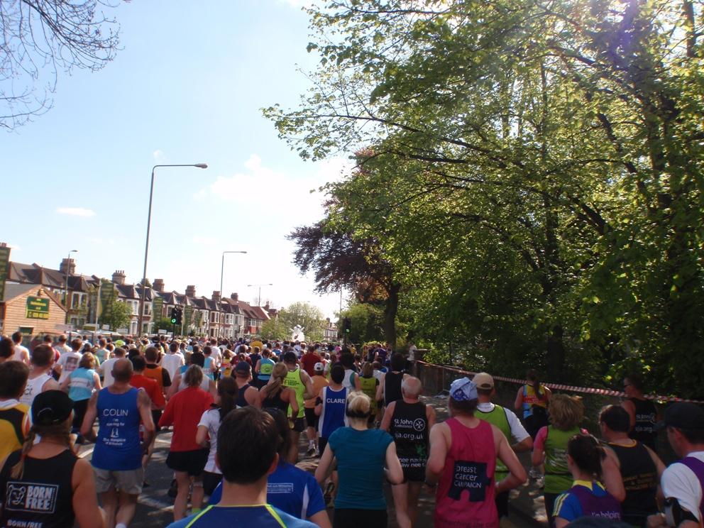 London Marathon Pictures - Tor Rønnow
