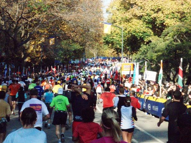 New York Marathon Pictures - Tor Rønnow