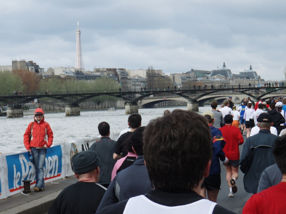 Paris marathon 2008