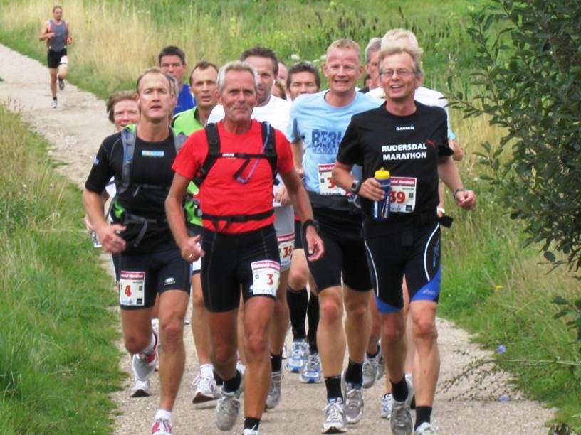 The fast runners at GARMIN Rudersdal marathon 09/08/08