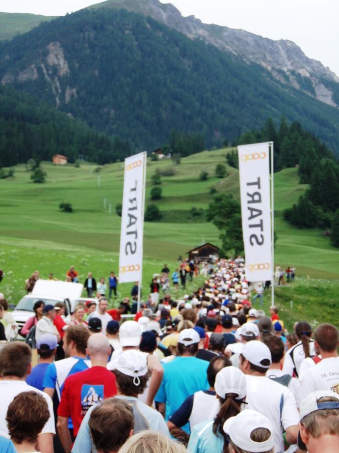 Swiss Alpine 42 K Marathon Pictures - Tor Rønnow